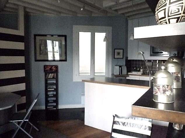 Wohnraum/Küche, offenes Konzept