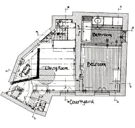 Das Apartment-Layout
