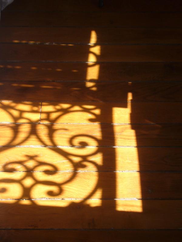 Harwood Fußboden im Wohnzimmer und Schlafzimmer