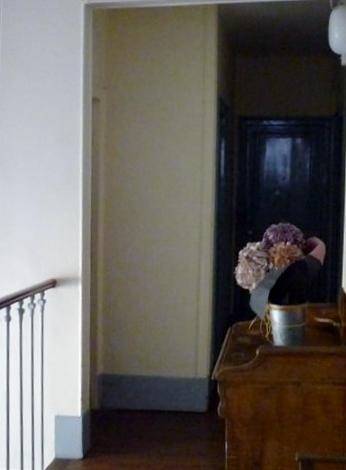 Sechste Etage Flur in die Wohnung