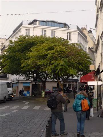 Äbtissinnen Square im Hintergrund, ein paar Schritte vom apartment