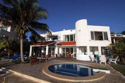 Villa Balam Ek Caribbean front view