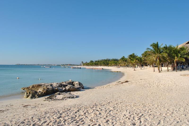 Villa Balam Ek ocean front rental in the Caribbean coast of Mexico Riviera Maya, vacation rental in Akumal