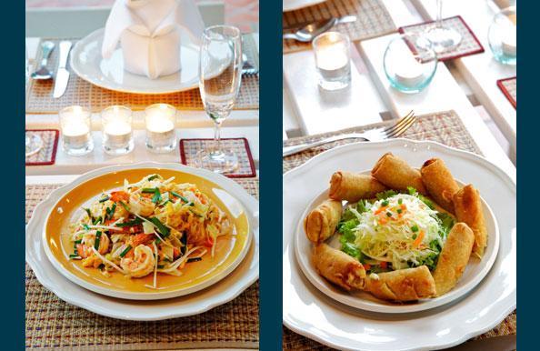 Personal Thai chef in villa service