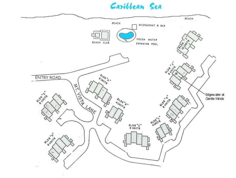 Edgeawater at Gentle Winds Site Plan