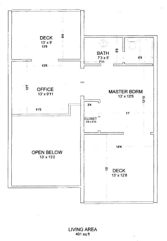 Edgewater 2nd Floor Plan