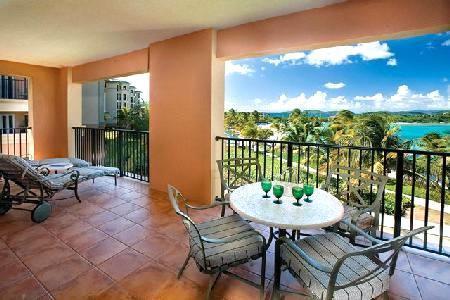 El balcón relajante. Una gran vista