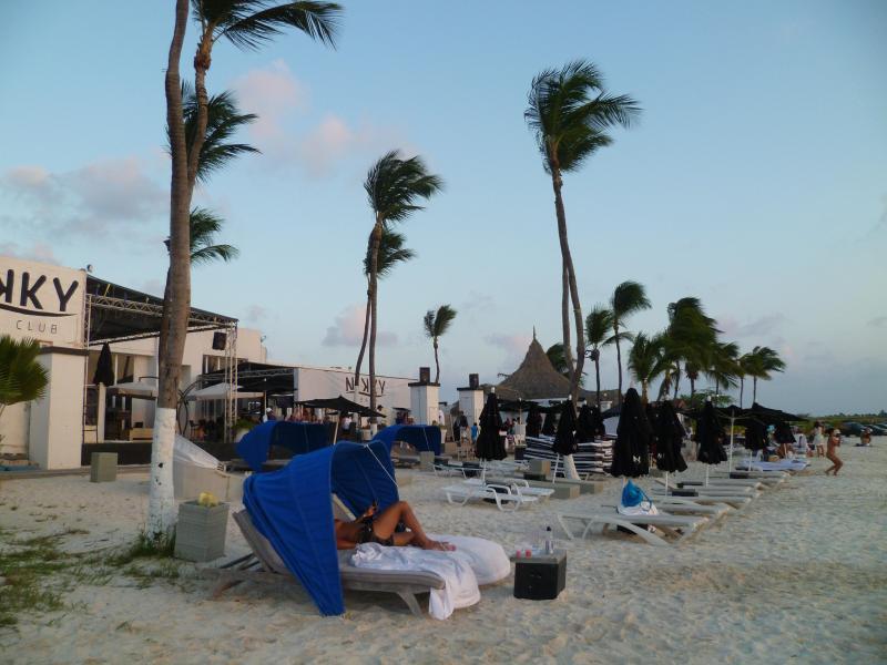 Nikki beach with in five minutes walk
