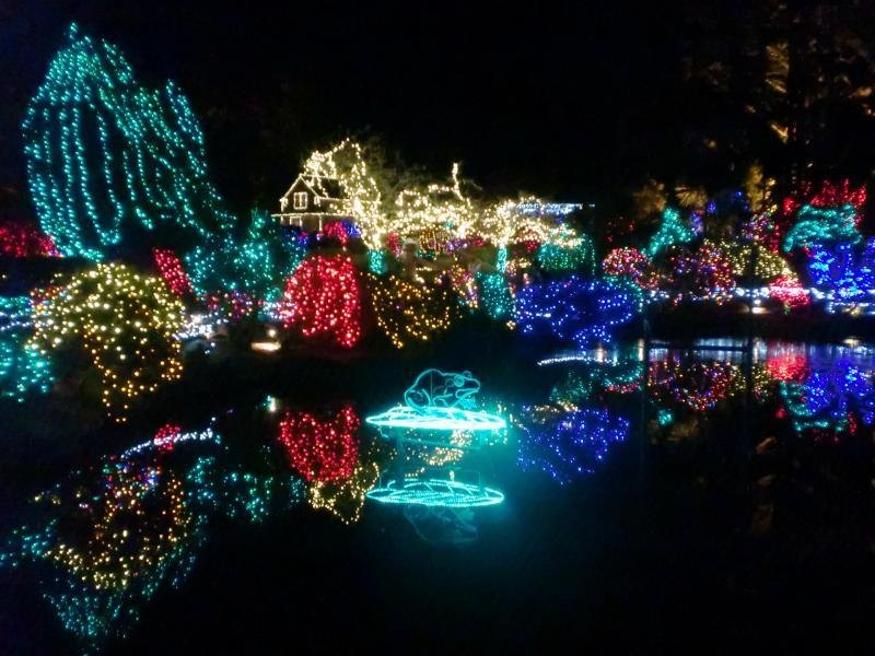 Shore Acres Christmas Light display