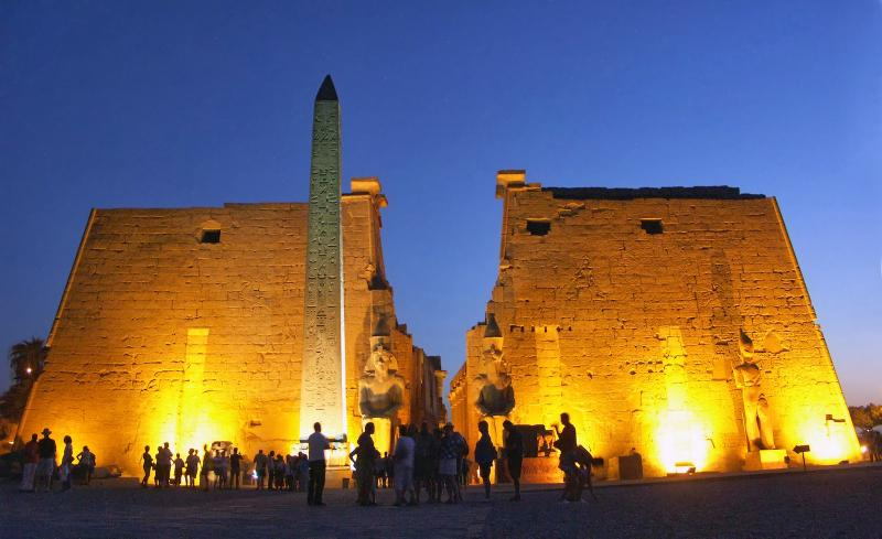 Luxor Temple only 3hrs by car