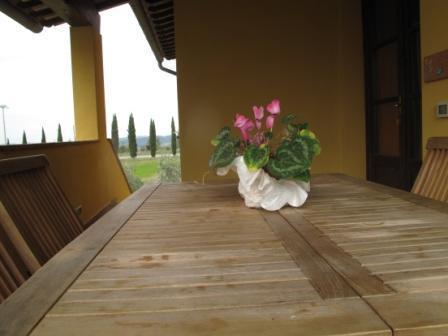 Spiga's balcony