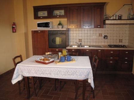 Spiga's kitchen