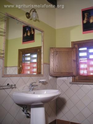 Spiga's bathroom
