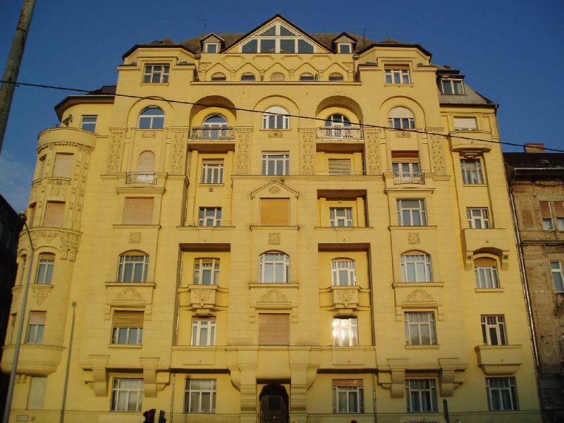 House Front overlooking Danube.