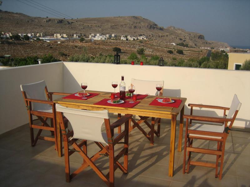 Roof Terrace with superb panoramic views