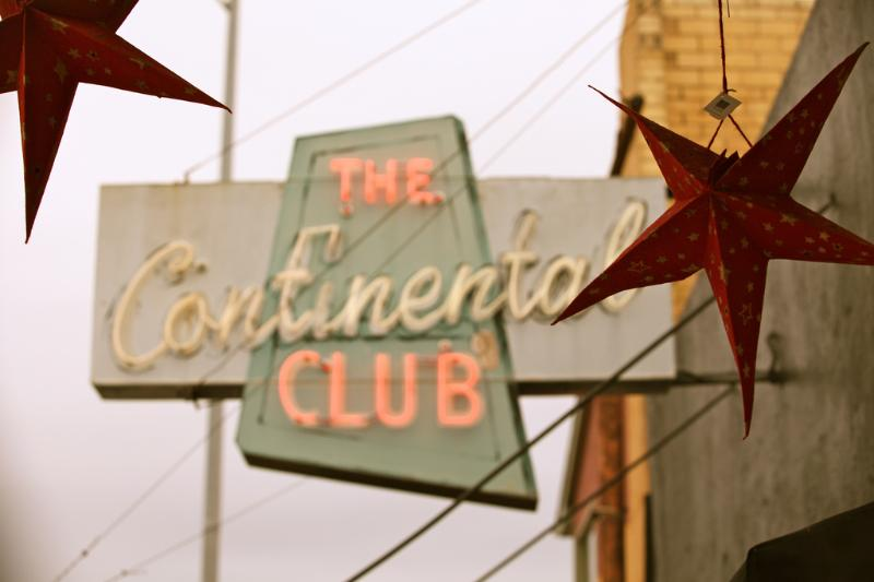Don't miss a show at the famous Continental Club on South Congress