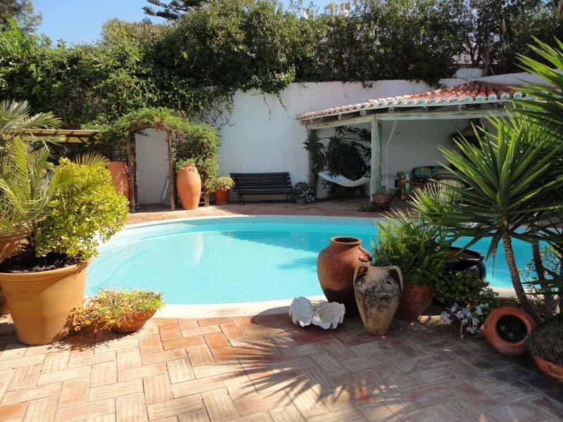 terrazza della piscina.