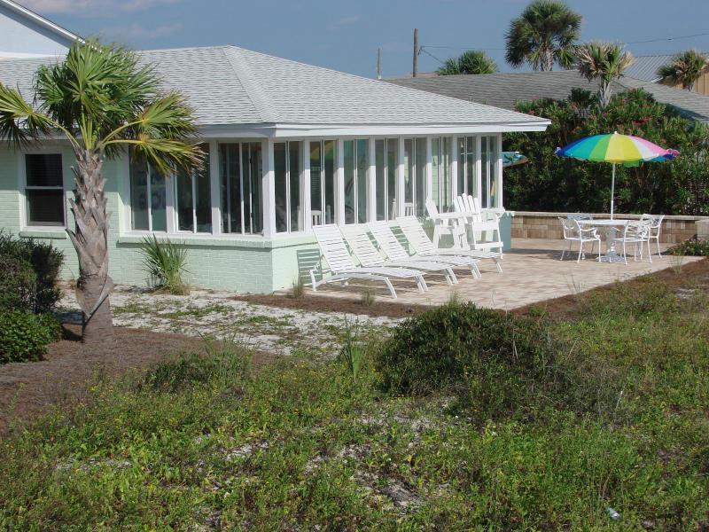 Beach side of The Beach House