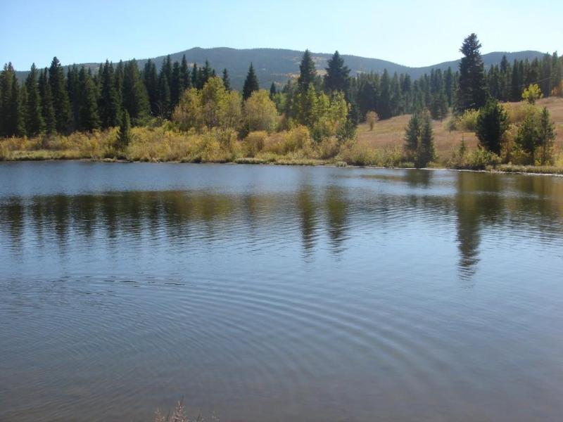Snowline Lake -private stocked fishing lake minutes away