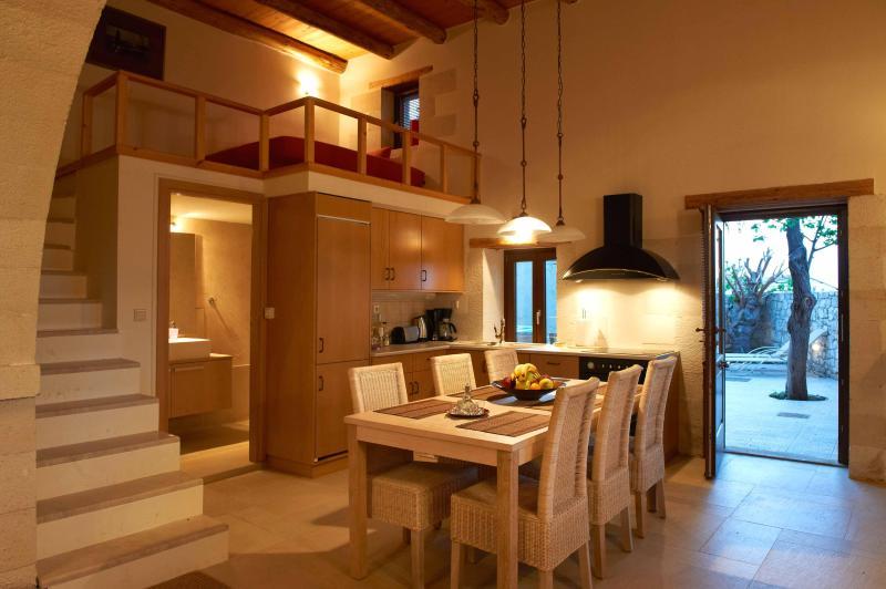 VILLA ALADANOS - cozinha totalmente equipada