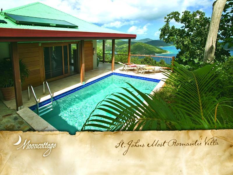 Coral Bay, St. John USVI Vacation Villa Rental - Mooncottage