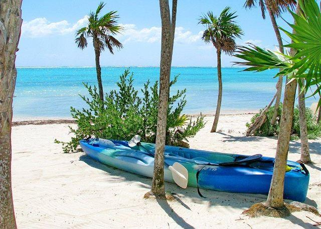 2 sea kayaks for guest use.