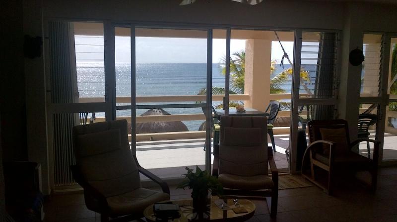 Blick auf die Karibik