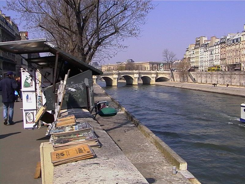 Seine at 10 meter walk