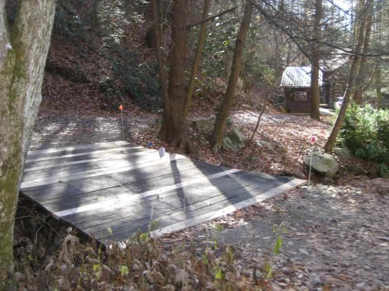 Bridge over the Creek to the Cabin