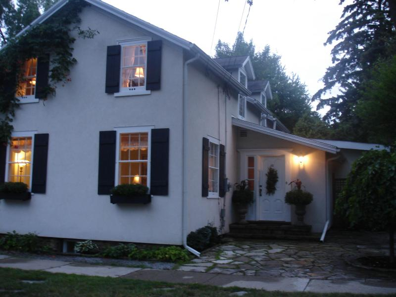 Avalon, circa 1820 is a fully restored home located steps to Queen St in the Heritage district