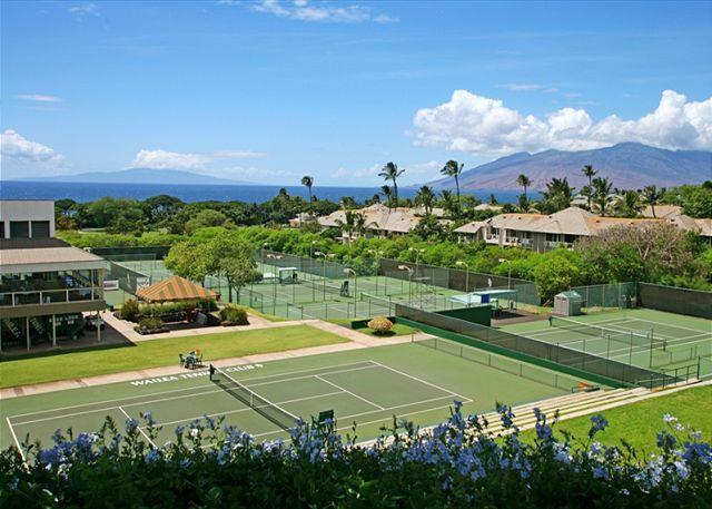 Wailea Tennis Club A Short Drive From The Palms