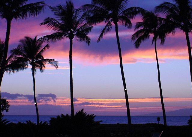 Magnificent Sunsets at Kamaole Beach