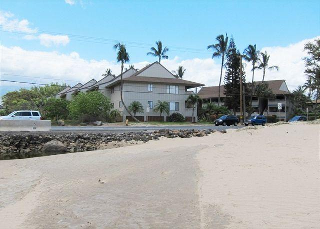 Beach Across From Kihei Bay Vista