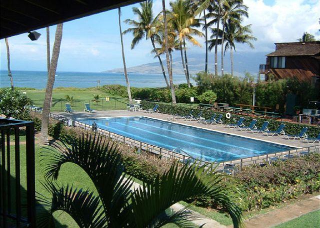 View from Waiohuli Beach Hale # 221