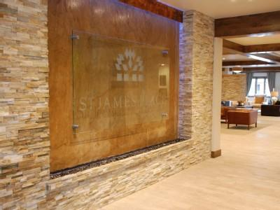 Lobby completely remodeled in spring 2013