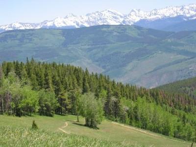 Scenic hiking and mountain biking trails at Beaver Creek