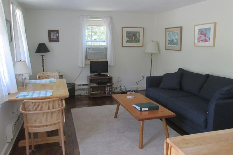 Living / dining area with AC unit