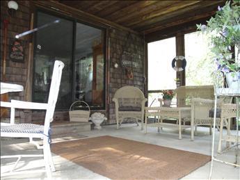 More inside the porch