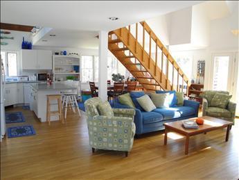 Bright open floor plan