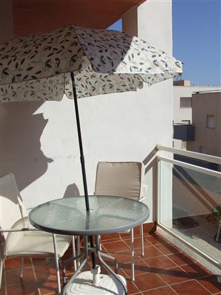 Parasol on the terrace