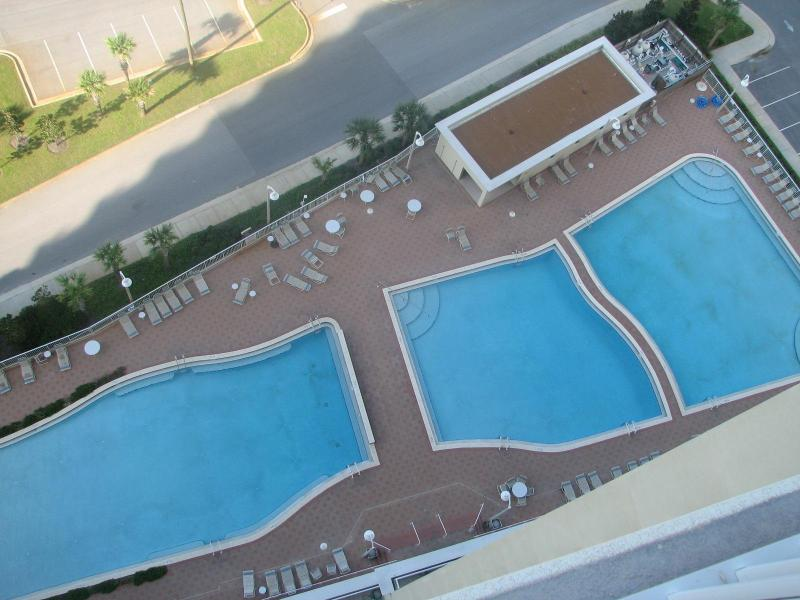 3 Swimming Pools /View from Balcony