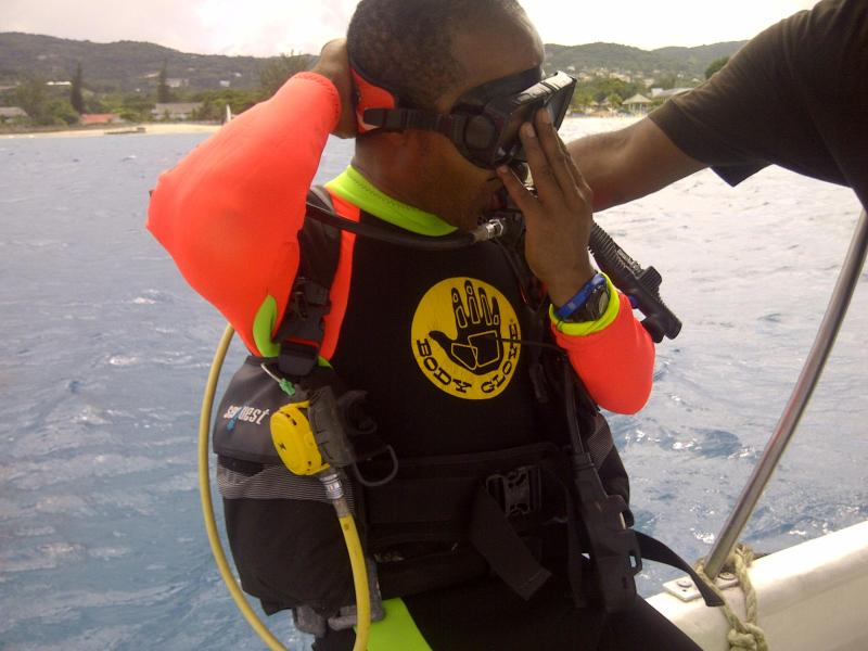 Scuba diving locally available