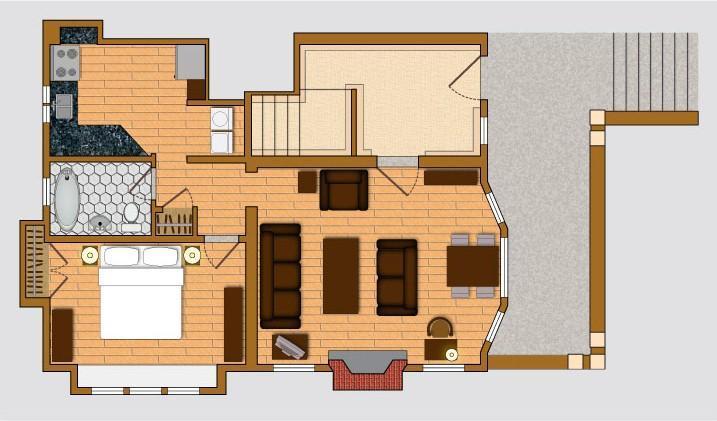 Suite 101 - Floor Plans