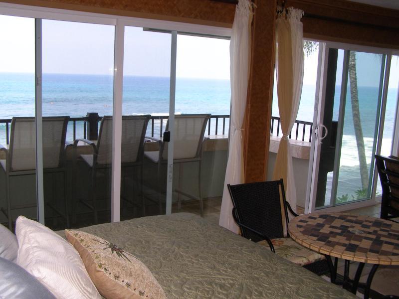 Chambre à coucher principale face à l'océan