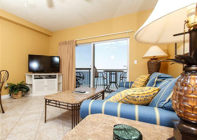 Updated in September 2013! This 6th floor beach front living roo