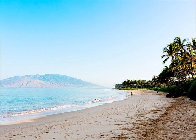 Keawakapu Beach is a Short Stroll From The Palms at Wailea