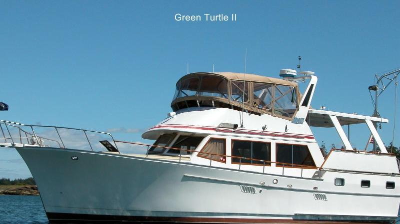 The pleasure of your own private yacht on Boston Harbor Green Turtle II. Close to the Freedom Trail.