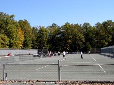 Coronado Center -- tennis