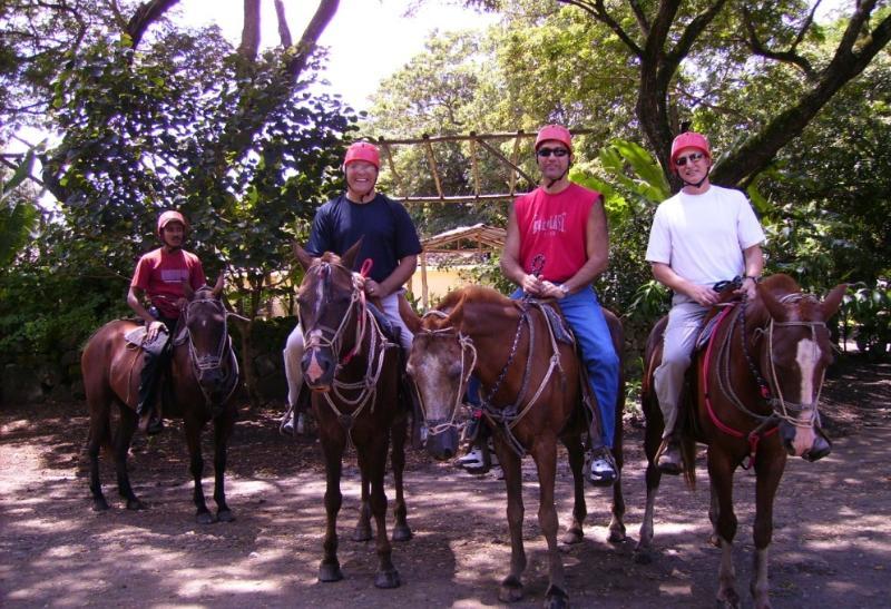 Horseback riding is a bast in Costa Rica