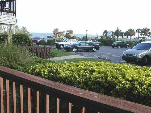 Ocean View From Balcony